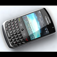 3d blackberry curve 8900