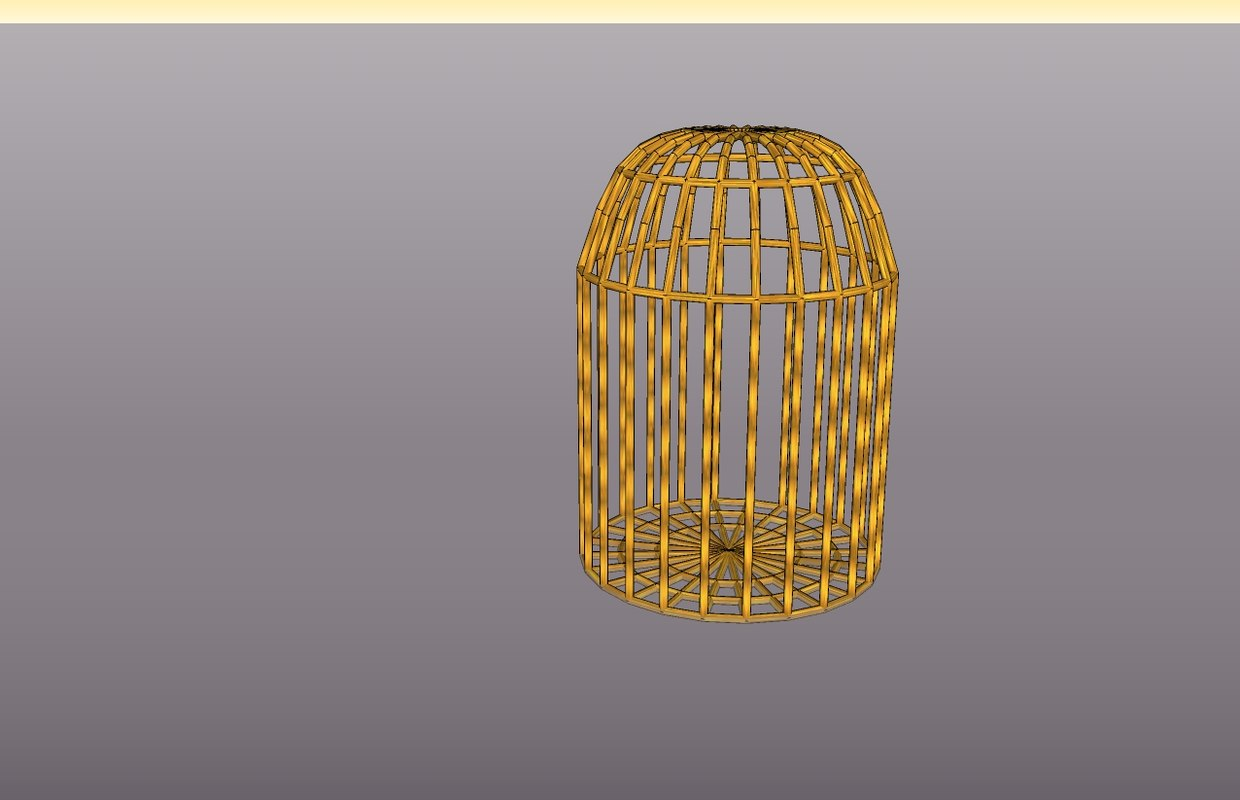 cage 3d 3ds