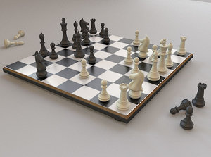 chess set board pieces max