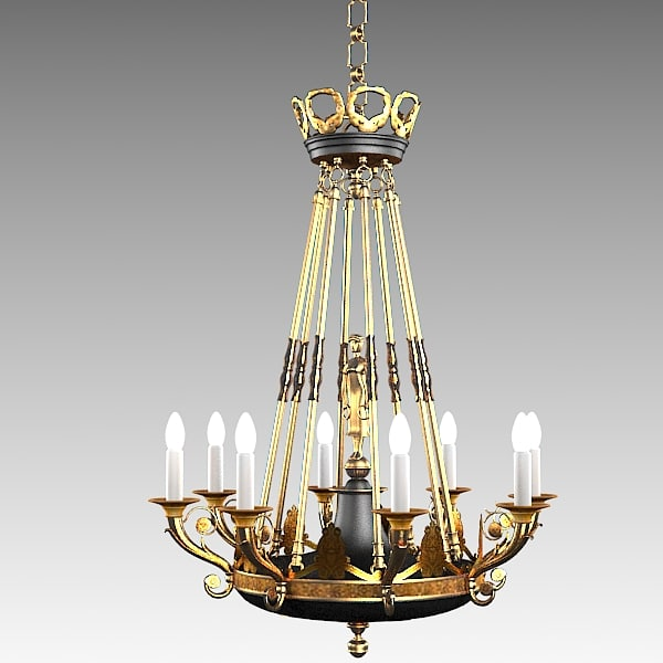 3ds max classic mariner chandelier