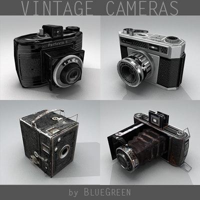 3d model vintage camera
