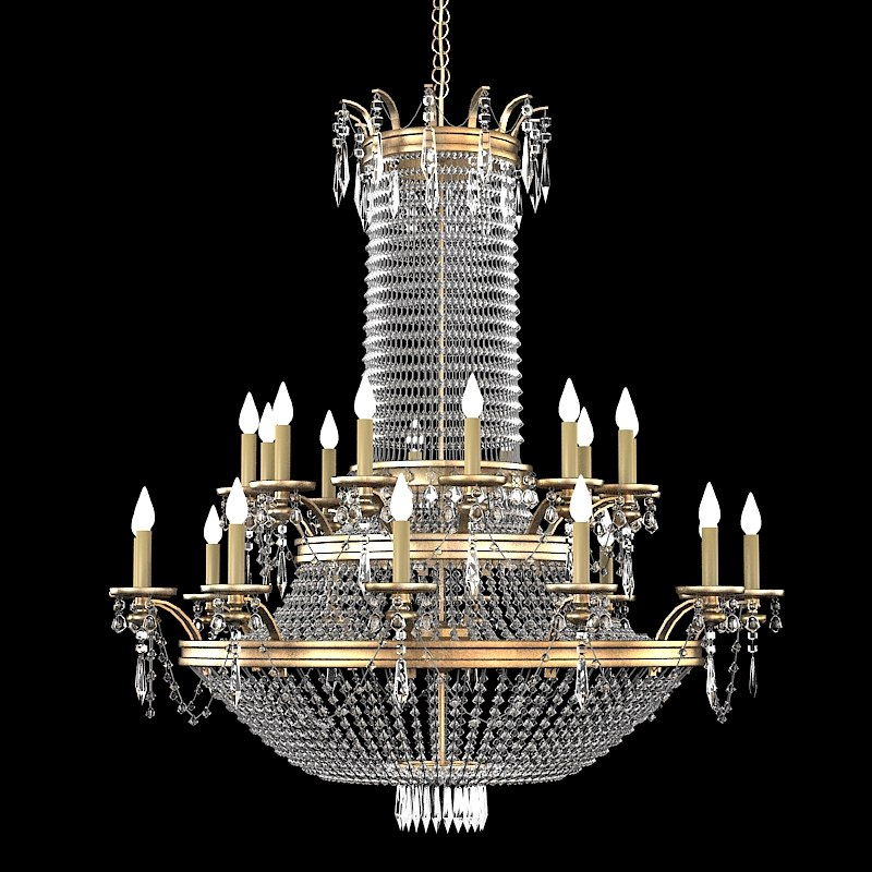 3d crystal classic chandelier aloadofball Images