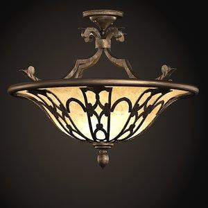 3ds max fine art lamps