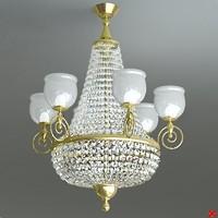3ds max chandelier