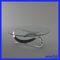 3ds max modern coffee table