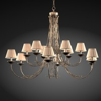 3ds max marioni lamp chandelier