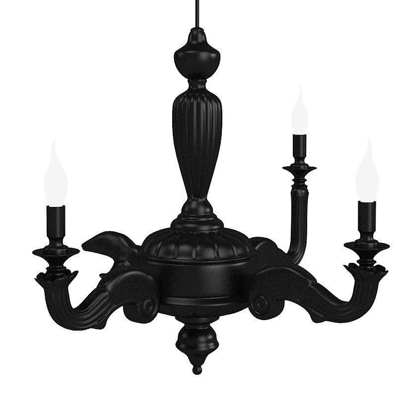 Mooi smoke chandelier 3d model aloadofball Image collections