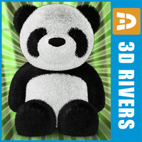 Toy panda by 3DRivers