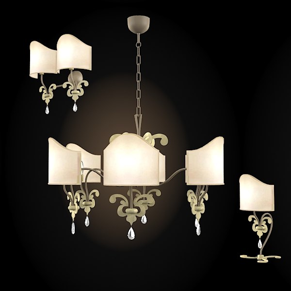 3d prearo kid chandelier