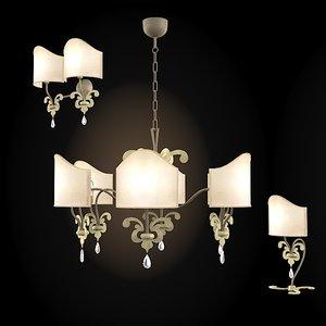 3d prearo kid chandelier