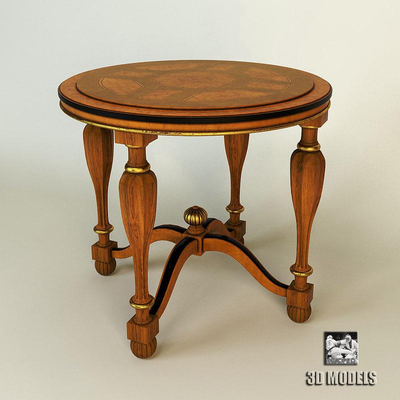 table ceppi art 3d max