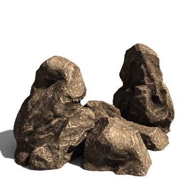 3ds rock visualizations