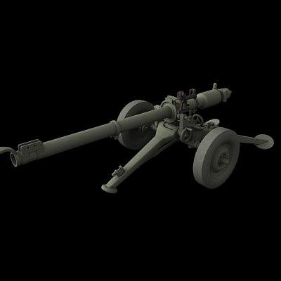 soviet b-11 3d max