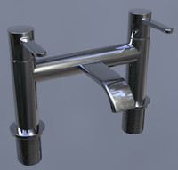 BATH FILLER TAP - CHROME