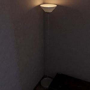3d tall lamp