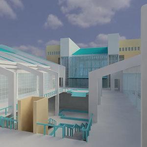 3d building function model
