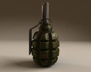 3d f1 grenade