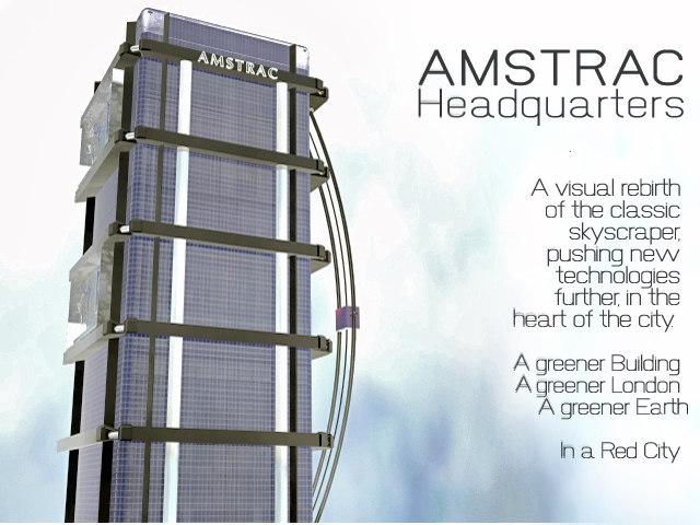 fictional skyscraper obj