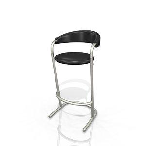 3d cort banana bar stool