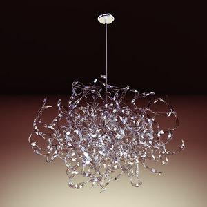 3dsmax chandelier andromeda