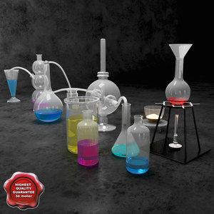 3d model chemical equipment v2