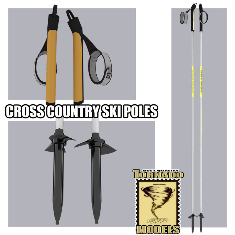max cross country ski poles