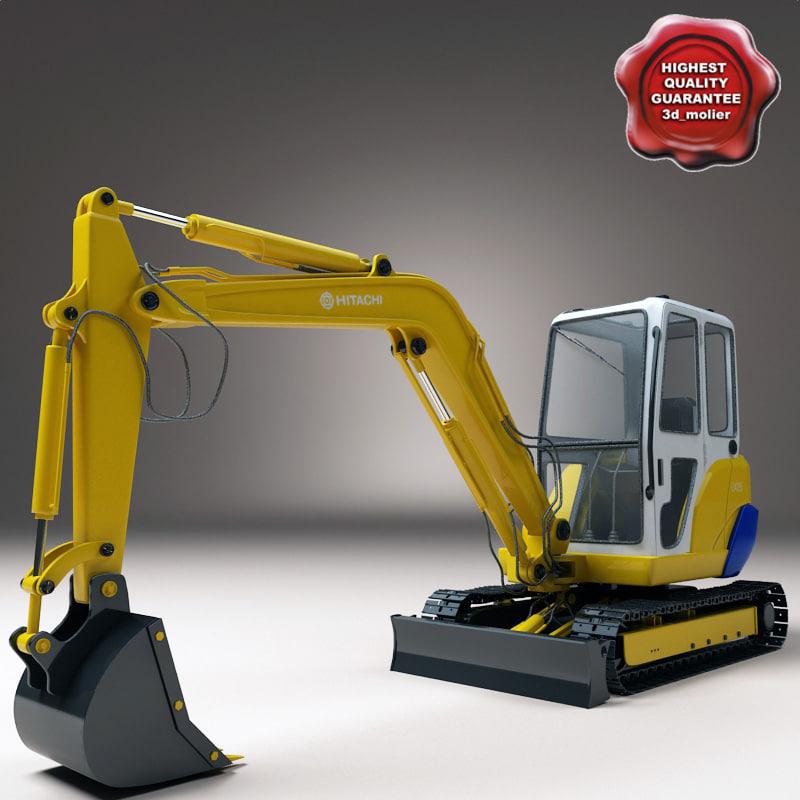 max excavator hitachi ex25