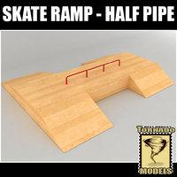 skate ramp - fun 3d model
