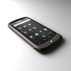3d google nexus communicator android model