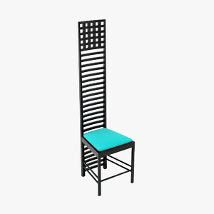 directx charles rennie mackintosh chair