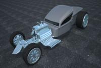 3d model truck concept