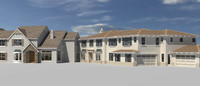 3d model house set 9