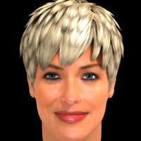 3ds max sharon stone hair