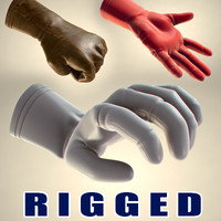 Rigged gloves