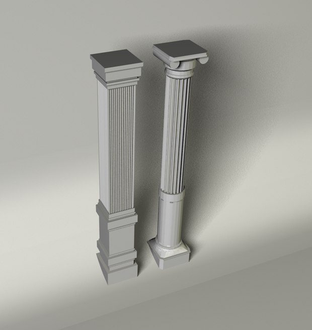cinema4d columns