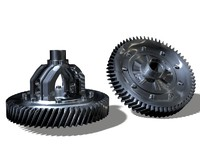 differential gear.c4d