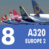 Airbus A320 Collection. Eight Europe Airlines 2