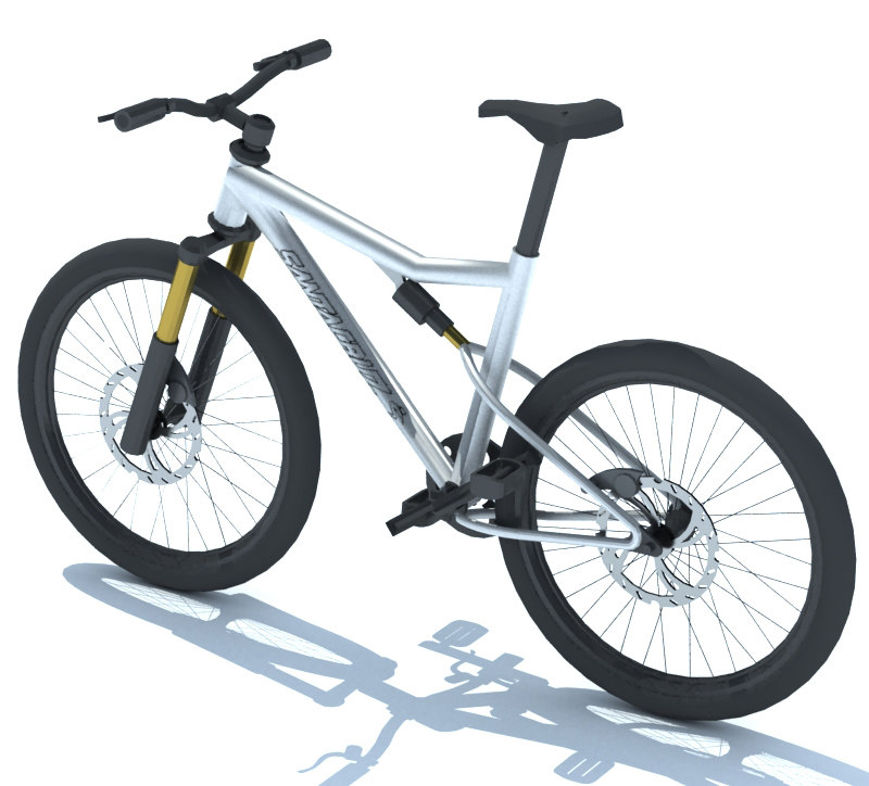 free bicycle 3d models for download turbosquid