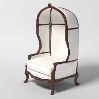 classic chair jumbo 3d model