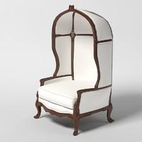 classic chair jumbo 3d model