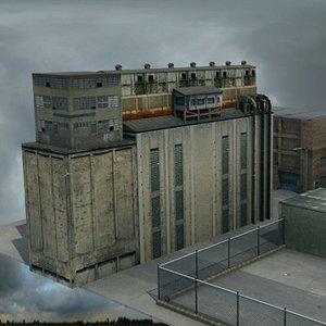 3dsmax industrial factory