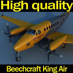 3d beechcraft king air
