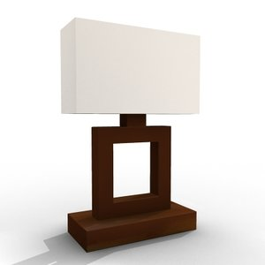 modern lamp lighting 3d model