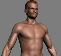 Realistic Male figure