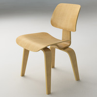 3d model eames dcw furniture