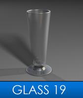 pilsner glass 3d model