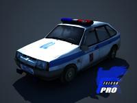 lada9 russian police car max