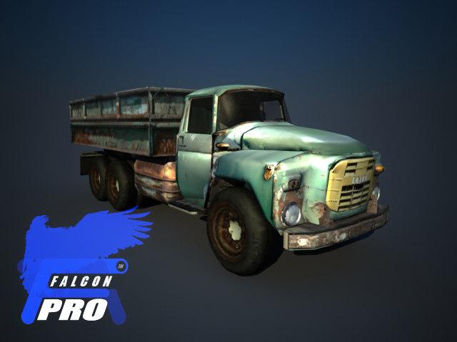 3d model tatra - polish truck