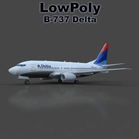b 737 3d 3ds