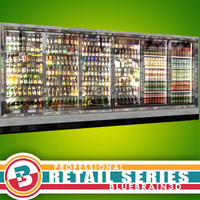 3d grocery store wall freezers model